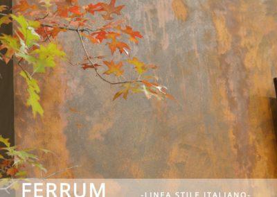 Ferrum rust effect